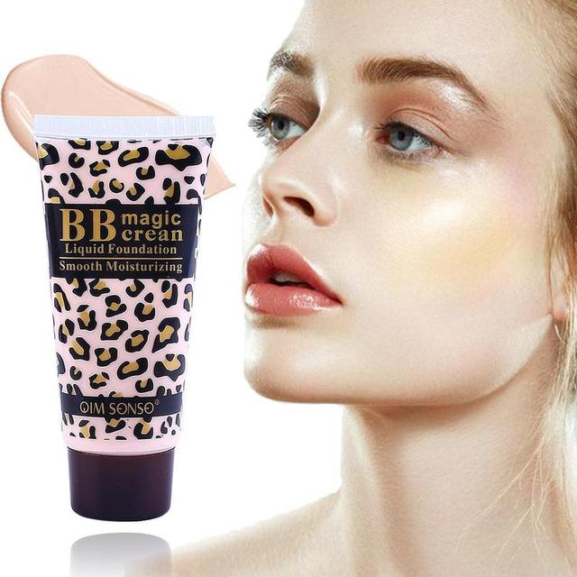 Makeup Smooth Moisturizing Face Whitening Leopard Magic BB Cream Foundation Makeup Smooth BB Cream
