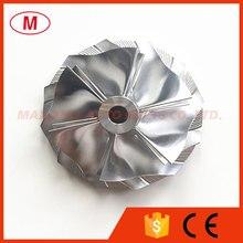 6 Turbo Billet 6-Blades TD05H Compressor-Wheel/aluminum 20G for 49179-00260/EVO 2618/milling-Wheel