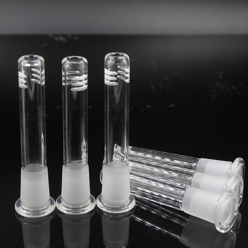 üvegcső diffúzor / reduktor Együttes méret14mm-18.8mm csőszár üveg üvegtál üvegre Vízipipa dohányzó cső