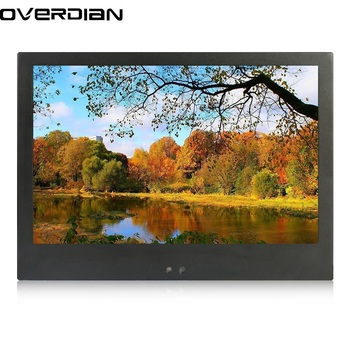 10.1inch Industrial Control Lcd Monitor/Display VGA Interface Metal Shell Fixed Ear Installation 1280*800