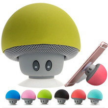 Mic Portable Waterproof Shower Speaker Mp3 Bluetooth answering call Phone Holder Mini Mushroom Stand for Xiaomi iPhone Samsung 3 5mm jack classic retro phone handset mini mic speaker phone call receiver for iphone samsung huawei