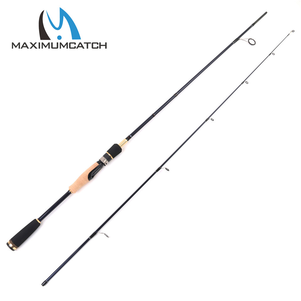 Maximumcatch 6'3'' Line Weight 4-8LB Spinning Fishing Rod 24T/IM 6 Carbon Fiber Megapower Lure Rod 2pcs Spinning rod [sa]takenaka frs2053 fiber line genuine 2pcs lot