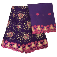 swiss voile lace in switzerland dubai fabric top quality cotton embroidery flowers african for women dresses 5+2 yards/lot