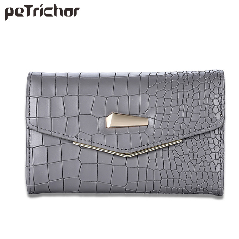 Long Hasp Clutch Wallet for Women Solid Color Soft Pu Leather Coin Purses Card Invoice Pocket Fashion Ladies Money Purse Girls fashion hasp and solid color design wallet for women