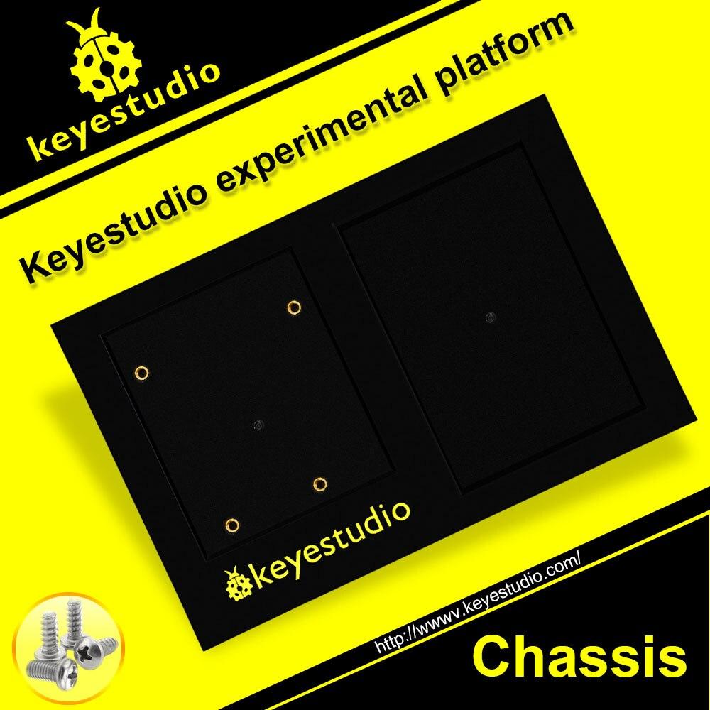 1 Uds. Keyesstudio ABS Base de plataforma para soporte UNO R3 + protoboard/soporte MEGA 2560 + fijación del tablero 60 uds EVA Soft Kids Toy Gun Bullet rellenar dardos diseño de núcleo de aire para Nerf n-strike Elite Mega Series