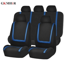 9Pcs Sets Car Seat Covers Rear Front Seat Cover Protector Un