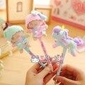 hairy Doll unicorn ballpoint pen free shipping
