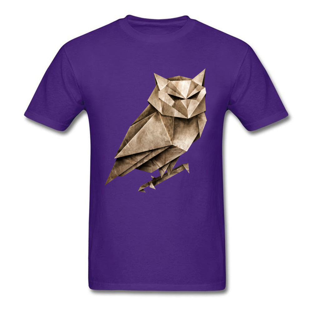 Tops T Shirt Owligami ostern Day Brand Fitness Tight Short Sleeve Pure Cotton Round Collar Men T Shirt Fitness Tight Tees Owligami purple
