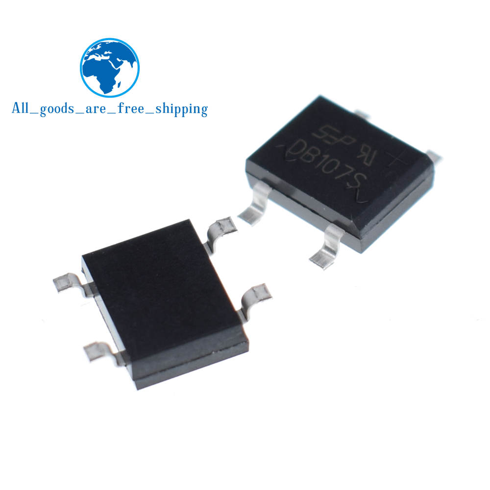 50Pcs Bridge Rectifier MB6S 0.5A 600V Miniature Mini Smd New Ic ey