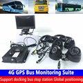 Автоматический сброс 4G GPS автобус мониторинга комплект сельскохозяйственных локомотивов/пожарная машина хост система мониторинга стыковк...