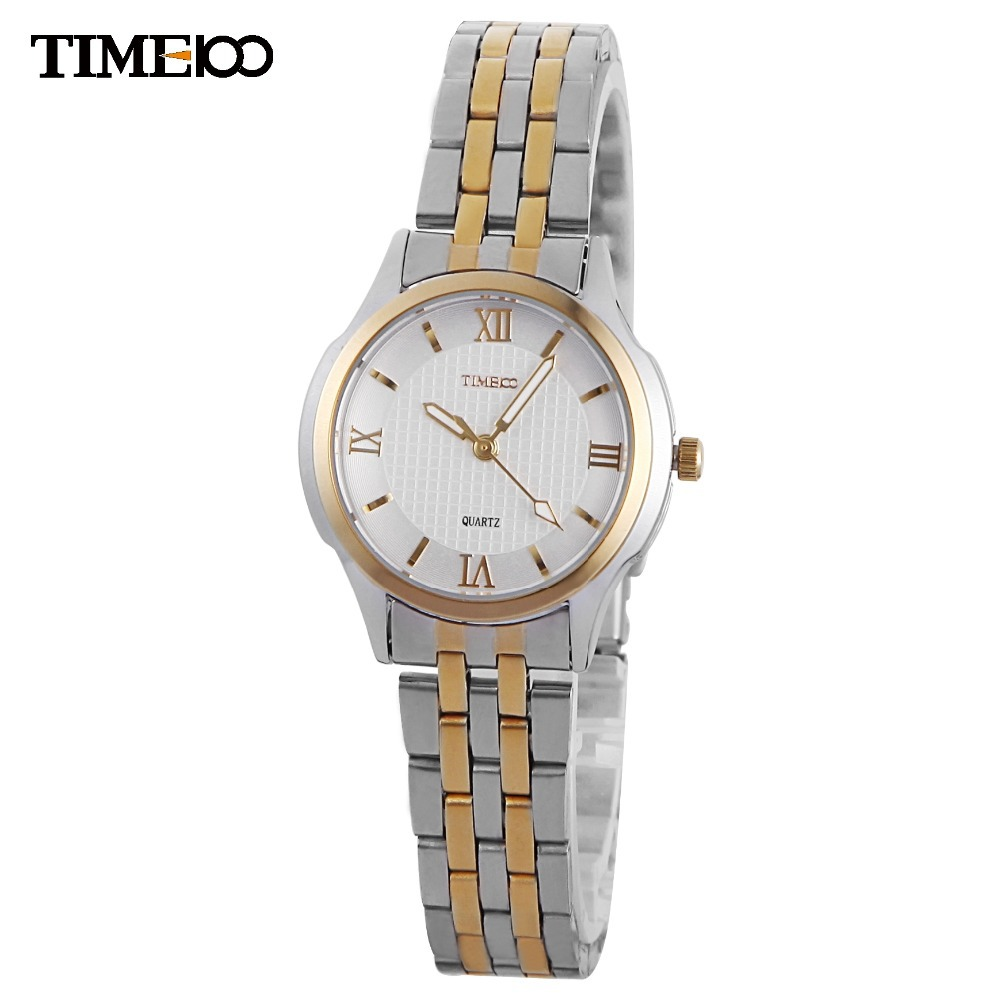 TIME100 Women Quartz Watches Analog Dress Fashion Couple Watch Ladies Wrist Watch For Women Gift Relogio Masculino Reloj Mujer 2017 sanwood brand ladies watches fashion white leather band analog quartz rhombic case wrist watch for women gift reloj mujer
