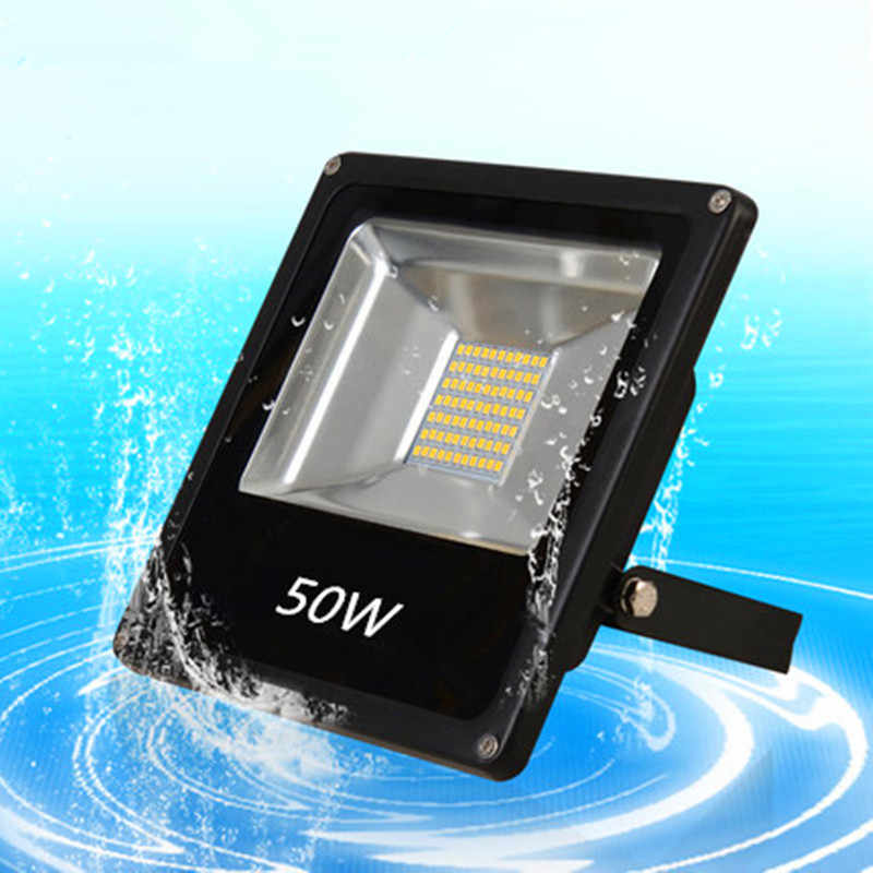 Outdoor Flood Light 10W 20W 30W 50W 5730SMD Waterproof Reflector DC 12V AC 230V Led Floodlight Spotlight Advertisement lighting