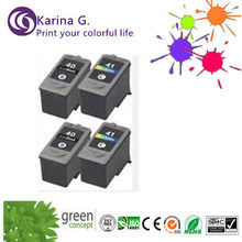 2sets  for PG-40 CL-41 Ink Cartridges For Canon JX300 ip1800 ip1900  ip2200 ip2600 MP140 MP150 Printer Inkjet Cartridge
