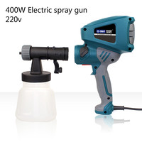 400W 220v Electric Spray Gun Adjustable And Disassembled Type Can Paint Emulsioni paint DIY tools