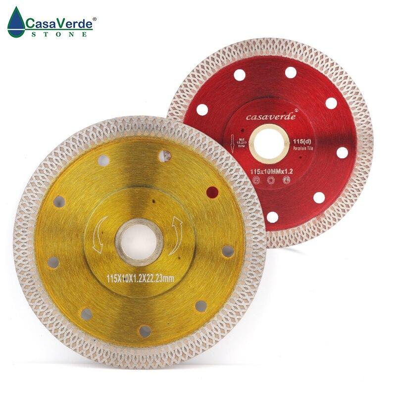 5pcs lot 115mm super thin 4 5 inch diamond ceramic cutting blade porcelain cutting blade for