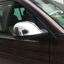 лучшая цена for Volkswagen Transporter (T6) Caravelle / Multivan 2017-2018 Accessories  ABS Chrome Rearview Door Mirrors Cover Trim 2pcs