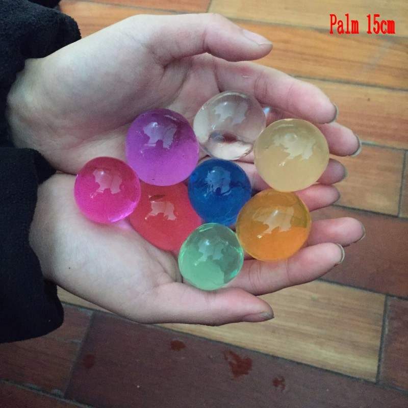 50g/lot Pearl Shape Dry 6-8mm Crystal Soil Mud орбизы Kids Toy Growing Water Balls Wedding Home Decor Beads SJ6-8