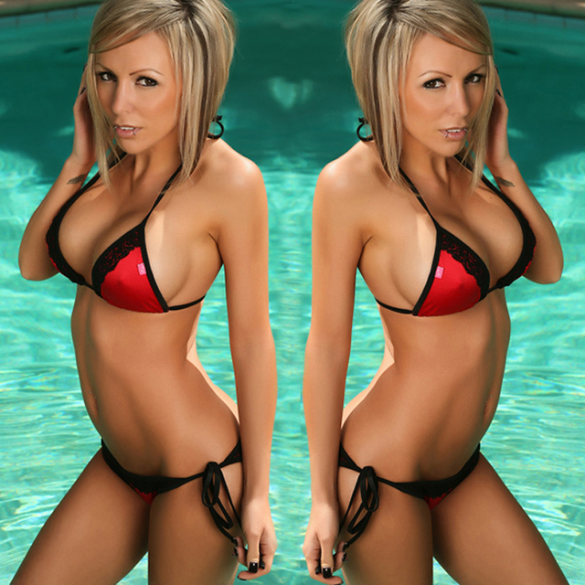 Bandeau Women 2 Piece Brazilian Swimsuit