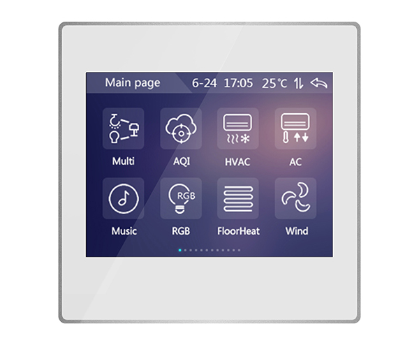 HTB1hKShaAWE3KVjSZSyq6xocXXa2 - Latest KNX/EIB GVS K-Bus 3.5'' KNX Touch Screen KNX Touch Panel 3.5 Inch Classic Type in KNX smart Home automation System