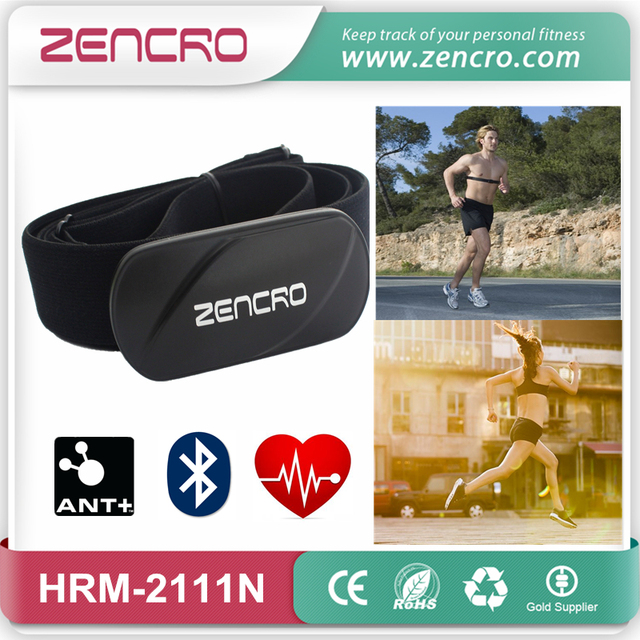 2-in-1 Heart Rate Strap Elastic Chest Belt ANT+ Bluetooth 4.0 Pulse Sensor Heart Rate Tracker