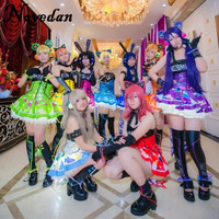 Lovelive Maki Nishikino Minami Kotori Led Fairy Idolized Maid Uniform Awaken Love Live Cyber Halloween Cosplay Costume For Women