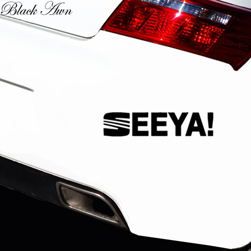 SEEYA Funny Car Window Decal Bumper Sticker JDM D180 in Car Stickers from Automobiles Motorcycles