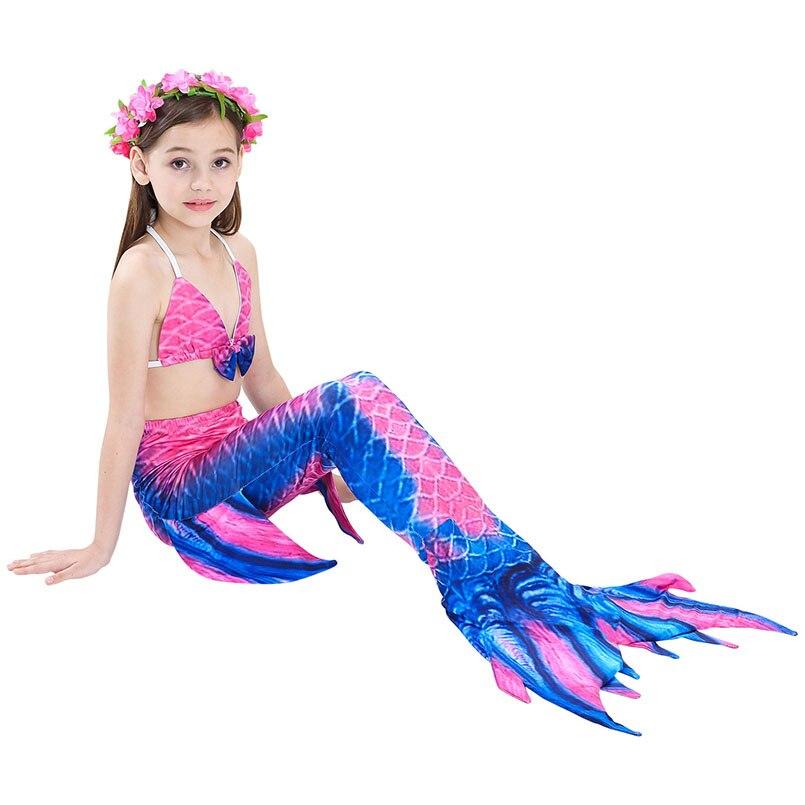 girls mermaid tail swimwear 4-2