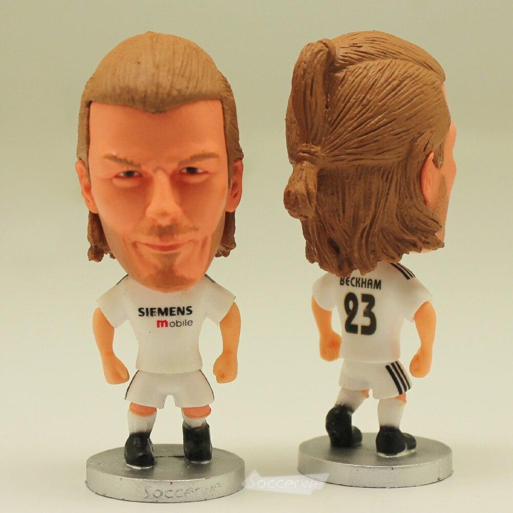 The classic football star Soccer Player Star 23# BECKHAM (RM-2005) 2.5 Toy Doll Figure Best Fan gift
