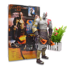 1845 CM God Of War Kratos With Blade Of Chaos PVC Action Figure Giant Collectible Model Toy Christmas Gift For Children kratos god of war 4 figure god of war kratos action figures game figure statue pvc collectible model toy
