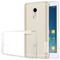 Redmi Note 4 Case Nillkin Nature Transparent Clear Soft Silicon TPU Protector Cover For Xiaomi Redmi