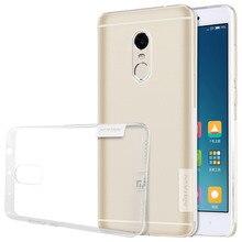 Redmi Note 4 Case Nillkin Nature Transparent Clear Soft silicon TPU Protector NILKIN Cover for Xiaomi Redmi Note 4 (5.5 inch )