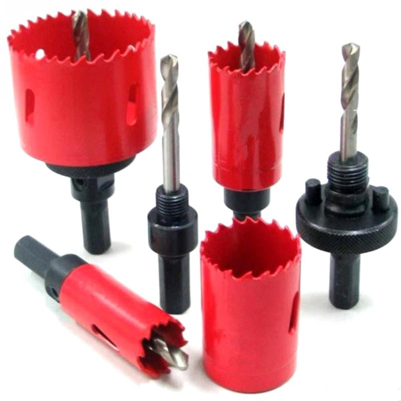 M42 Drilling Hole Saw Cutting Kit Opener Drill Bit Cutter Holesaw For Aluminum Iron Stainless Steel Plate Metal Plate