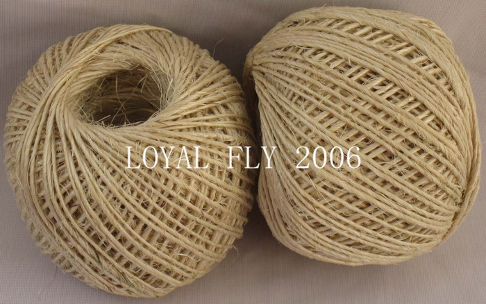 3 pcs/lot (total 240m) sisal twine(1.5mm) 80m/ball,sisal rope, sisal string