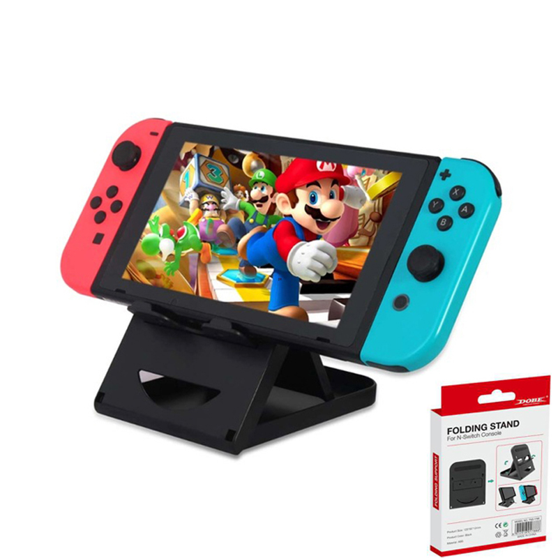 Adjustable Foldable ABS Compact Bracket Play Stand Holder for Nintend Switch Nintendoswitch Console Controller Game Accessories