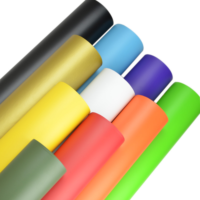 Matte Vinyl Wrap Film vinyl wrap With Air Bubble Free Matte black white yellow Foile For Vehicle Graphic 5ft X 65ft/Roll high quality black glossy 2d carbon fiber vinyl air free bubble for vehicle wraps size 1 52 30m roll