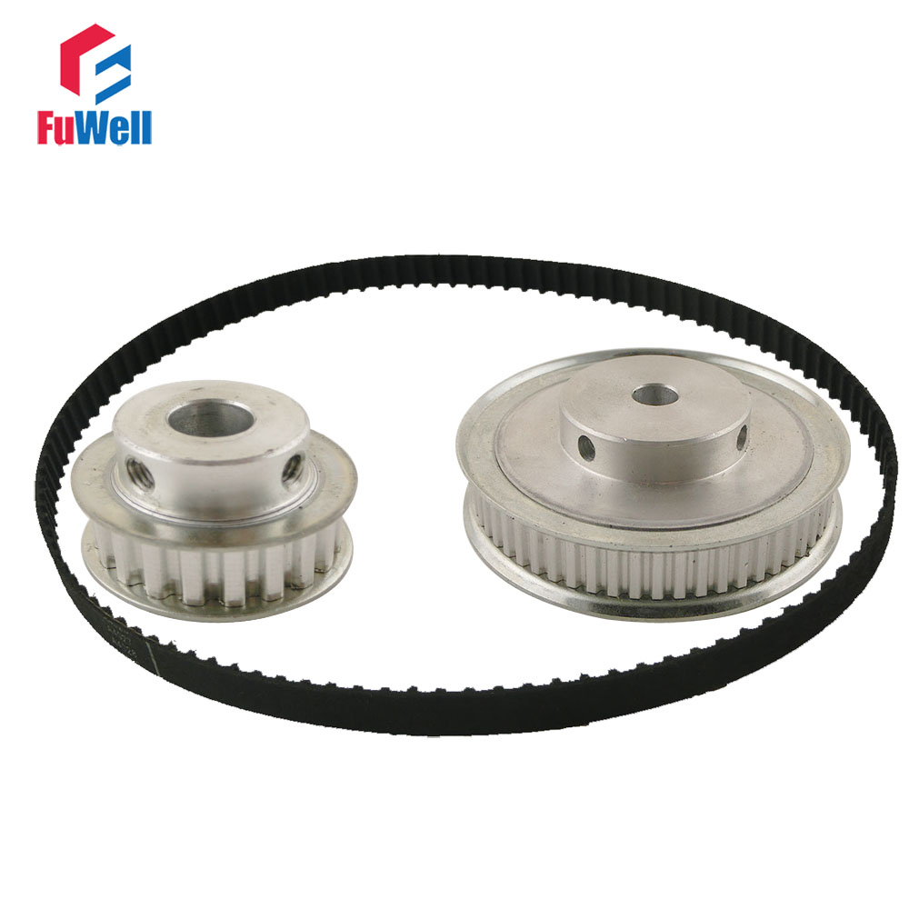 XL Reduction Timing Belt Pulley Set 20T:60T 1:3/3:1 Ratio Gear Kit Shaft Center Distance 80mm 148XL Toothed Belt Pulley lacoste туалетная вода eau de lacoste l 12 12 jaune lacoste 50 мл