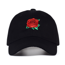 VORON 2017 New Hot Fashion Roses Men Women Baseball Caps Spring Summer Sun Hats for Women Solid Snapback Cap Wholesale Dad Hat