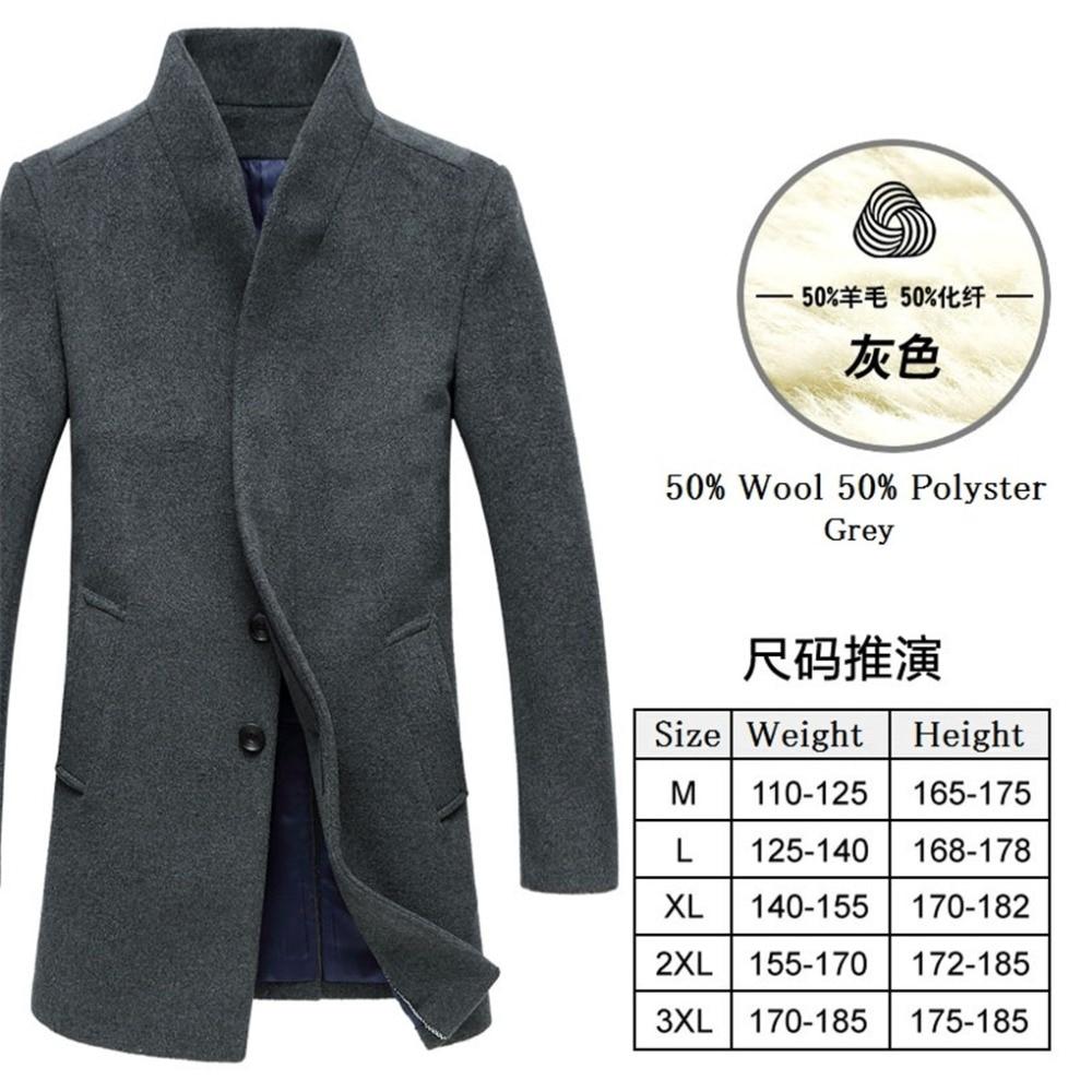 wolle schnalle winter mantel mantel mode 34OFF Shanghai männlichen lange 74 business mantel US58 in Wolle Geschichte graben mantel herren woll xoCeWrdB