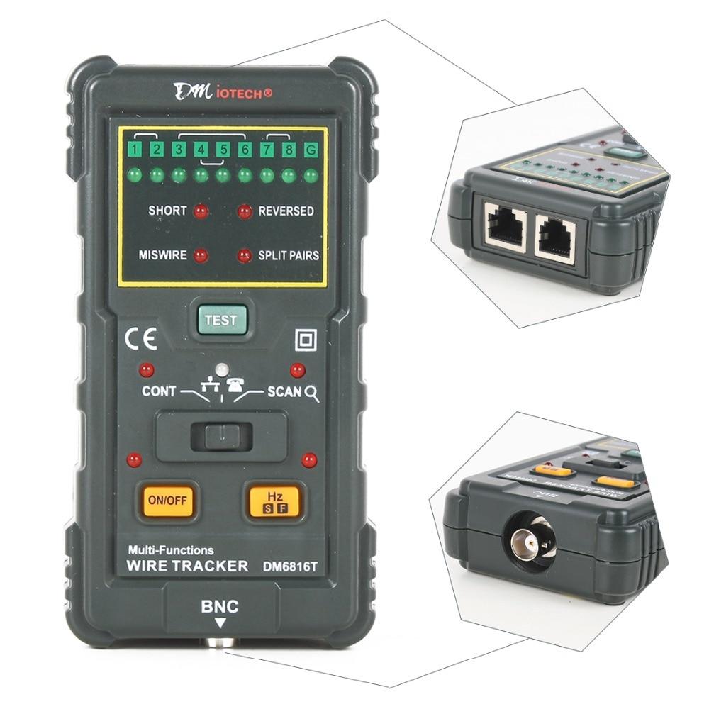 Aliexpress.com : Buy New RJ45 RJ11 Ethernet LAN Network Cable Tester ...