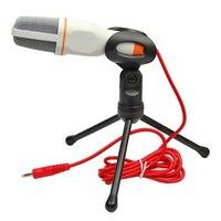 Новый профессиональный конденсаторный звук профессиональный микрофон для ПК ноутбук Skype микрофон MSN
