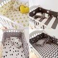 (1 unids parachoques solamente) caliente de La Manera cuna parachoques cama para bebé, cuna parachoques moda clauds/star/dot/árbol, una protección segura para el uso del bebé