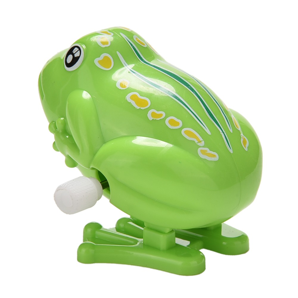 Funny Clockwork Toy Baby Boys Frog Design Running Clockwork Spring Toy reborn baby wind up Classic Toy