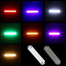 1 шт. Новинка; Лидер продаж 7 цветов светодиодный Панель световая полоса лампа светодиодный источник 1W энергосберегающее освещение модуля COB Чип Flip