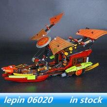 Lepin 06020 lepin ninjagoing Genuines Final Fight of Destiny's Bounty Compatible Legoing ninjagoes 70738 Building Christmas Gift