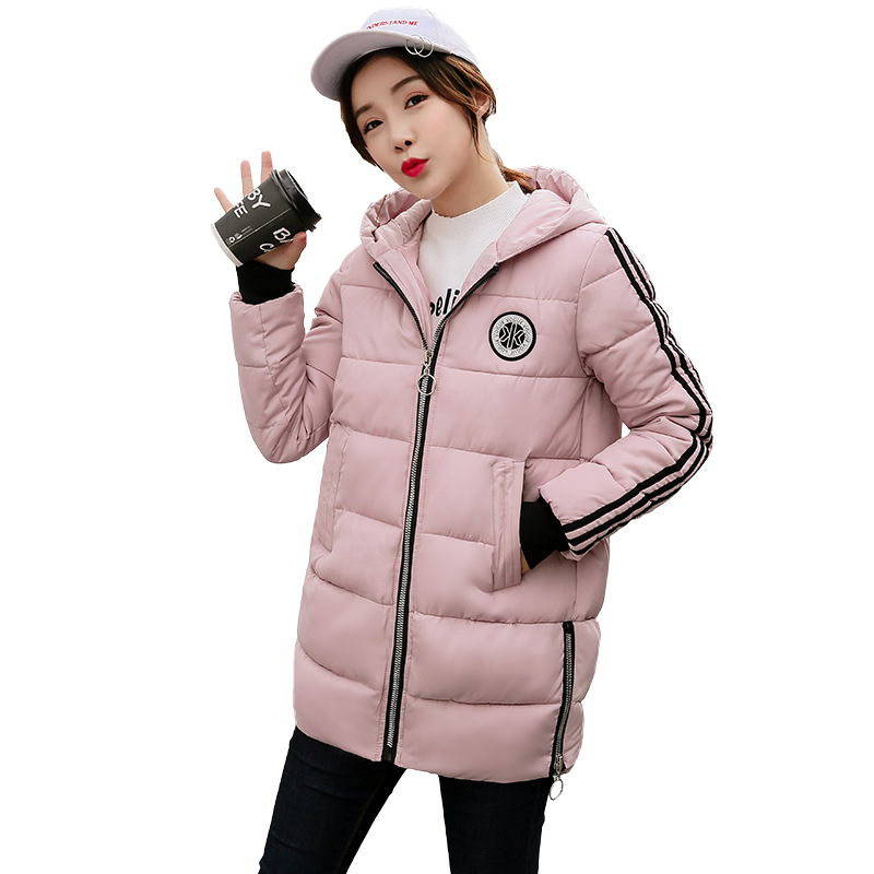 New 2017 Fashion Winter Jacket Long Slim Hooded Parkas Patterns Thicken Cotton Padded Warm Coat Female Outwears Plus Sizes wadded cotton jacket 2017 new winter long parkas hooded slim coat pattern designs thick warm coat plus sizes female outwears