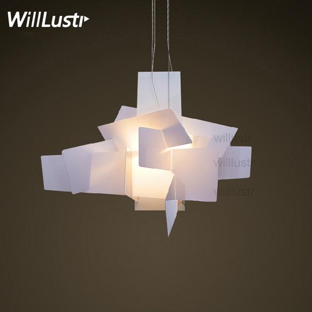 Moderne Big Bang suspension Lamp hanglamp ENRICO FRANZOLINI acryl ...