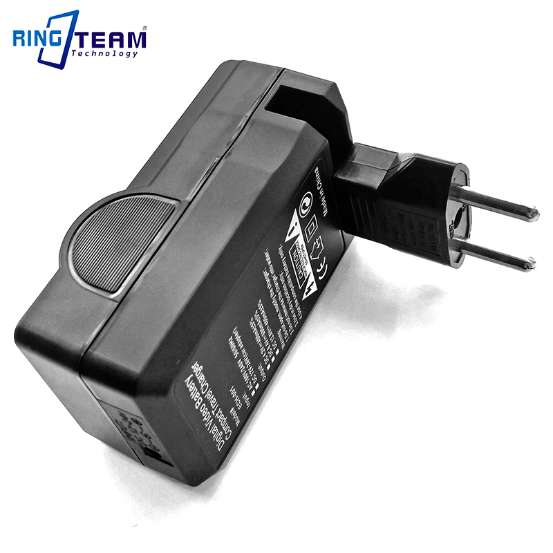 Compatible with Sony NP-BN1 Digital Camera Batteries and Chargers Replacement for Sony Cybershot DSC-W610 Battery and Charger with Car Plug and EU Adapter 650mAh 3.7V Lithium-Ion