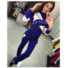 Tracksuit for Women Autumn Women's Thickening Large Size Loose Leisure Suit Fema