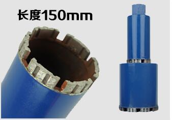 цена на Free shipping of 1pc 102*150mm M22 connector short diamond wet drill bits core bit for hole opening on masonry/concrete wall