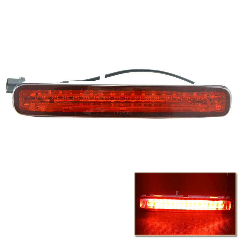 Car Styling One Piece Led Third Brake Lights Lamp For Ford Mustang 05 09 Clear Lens